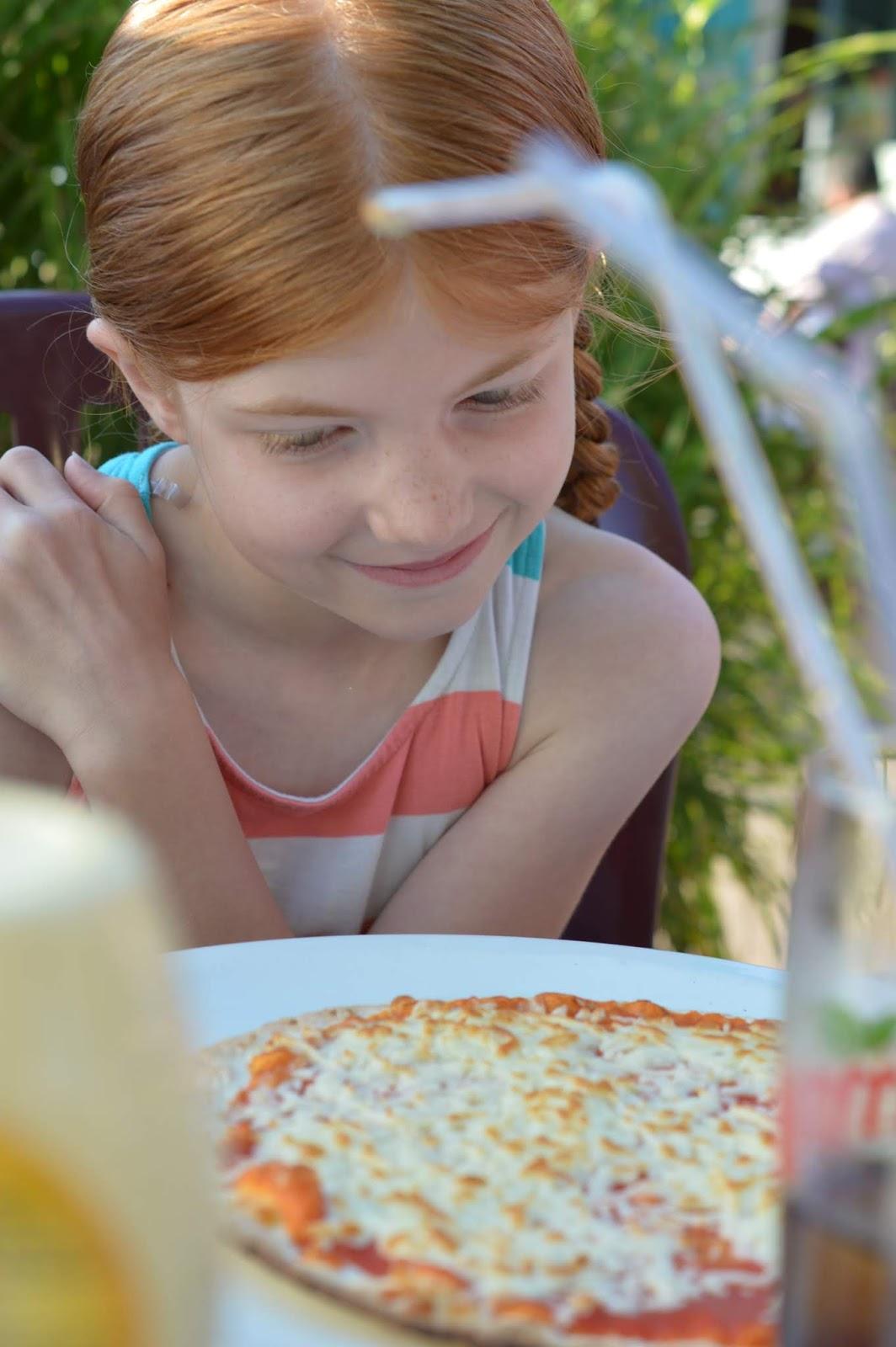 Les Ecureuils Campsite, Vendee - A Eurocamp Site near Puy du Fou (Full Review) - kids pizza
