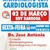 Atendimento com Cardiologista dia 02 de março na Clilab em Ruy Barbosa
