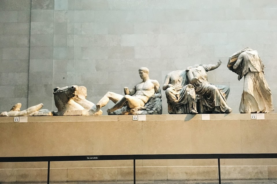 パルテノン神殿の彫刻(The Sculptures of the Parthenon)