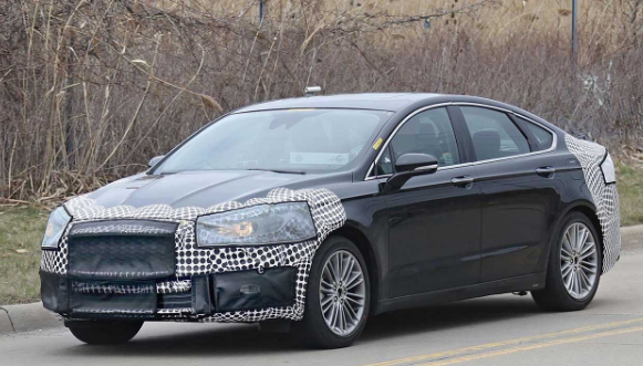 2018 Ford Fusion Engine, Specs, Rumor (Spy Shoot)