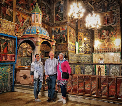 It is generally acknowledged that Vank cathedral is one of the greatest architectural masterpieces of Iran. The church is placed in one of the oldest parts of Isfahan called Jolfa