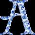 Alfabeto en Porcelana Holandesa.