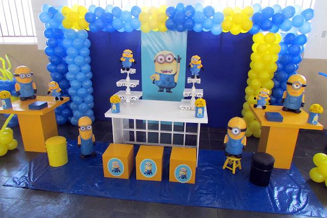 Festa Minions: Decoração de festa infantil Minions
