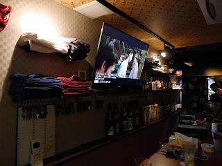 Zakoza Bulge Bar lounge, for gay guys into fundoshi loin cloths, Osaka, Japan.