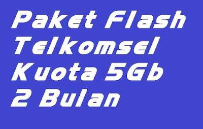 Kembali lagi admin ulas artikel mengenai cara mengaktifkan Paket Flash Internet Telkomsel 5GB Harga 25 ribu Masa Aktif 2 Bulan
