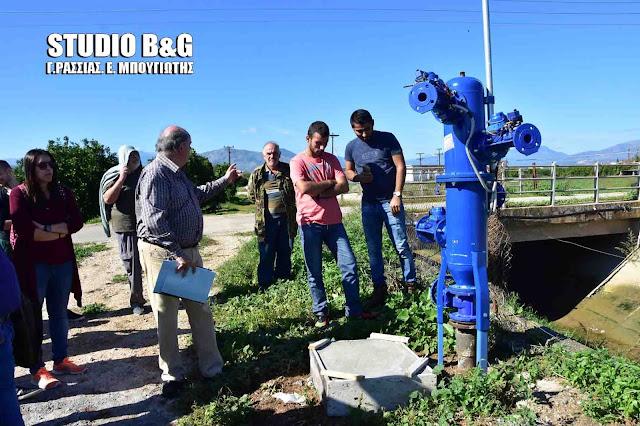 Γ. Μανιάτης: 80.000€ από Περιφέρεια και ΔΕΗ για ολοκλήρωση του έργου ΤΟΕΒ  Ήρας - Κουρτακίου