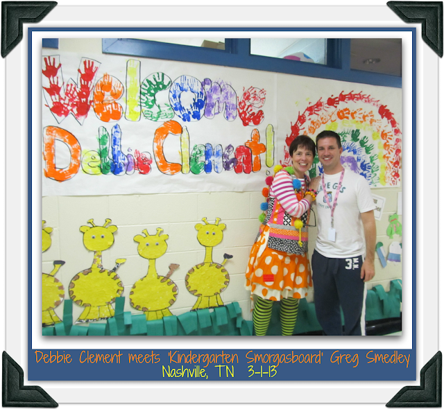 RainbowsWithinReach meets Kindergarten Smorgasboard