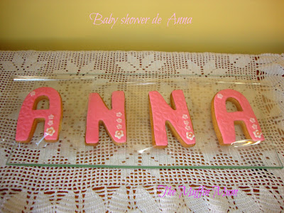 Galletas Baby Shower de Anna