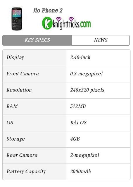 Jio phone full details