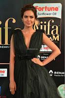 Esha Gupta in a Deep Neck Sleeveless Dark Green Gown at IIFA Utsavam Awards 2017     21.JPG