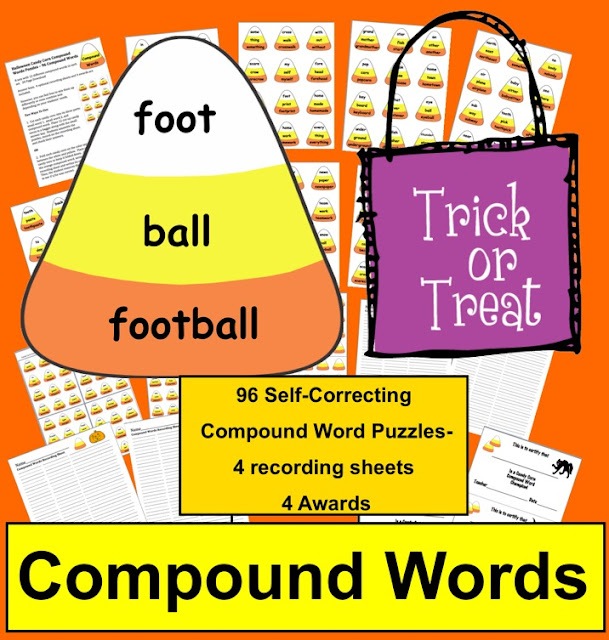https://www.teacherspayteachers.com/Product/Halloween-Activities-Candy-Corn-Compound-Words-Puzzles-96-Compound-Words-365903