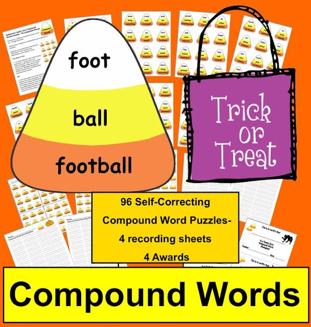 https://www.teacherspayteachers.com/Product/Halloween-Activities-Candy-Corn-Compound-Words-Puzzles-96-Compound-Words-365903