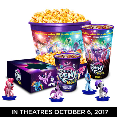 Mlp The Movie Cinema Promotions Figures Revealed Mlp Merch