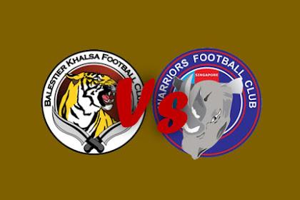 Live Streaming Balestier Khalsa FC vs Warriors FC #AIA Singapore Premier League 28.04.2019