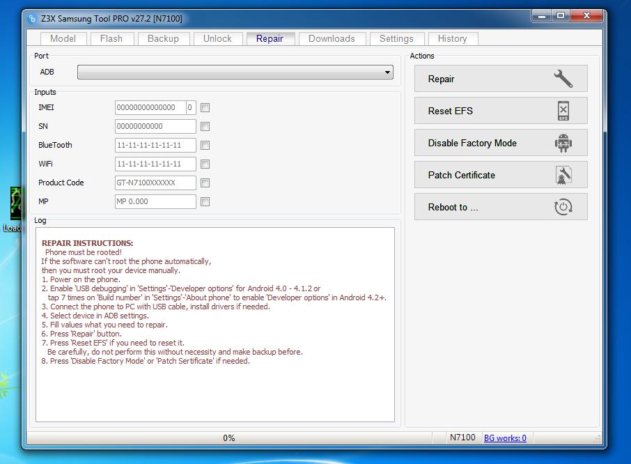 z3x samsung tool pro v29.6 crack