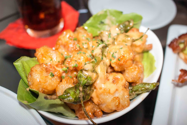 The Sunroom - Rock Shrimp Tempura