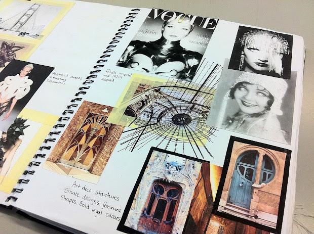 Fashion Sketchbook Ideas