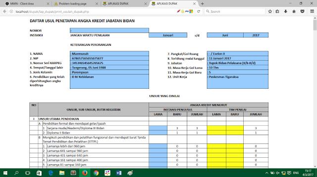 Aplikasi Sistem Informasi Daftar Usulan Penetapan Angka Kredit - Lupacode