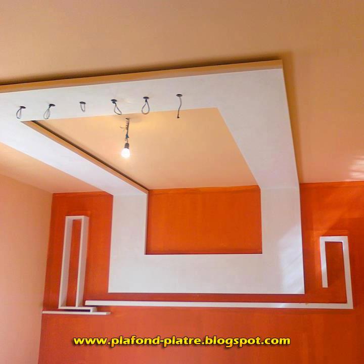 faux plafond en platre marocain 2013 faux plafond platre suspendu et tendu. Black Bedroom Furniture Sets. Home Design Ideas