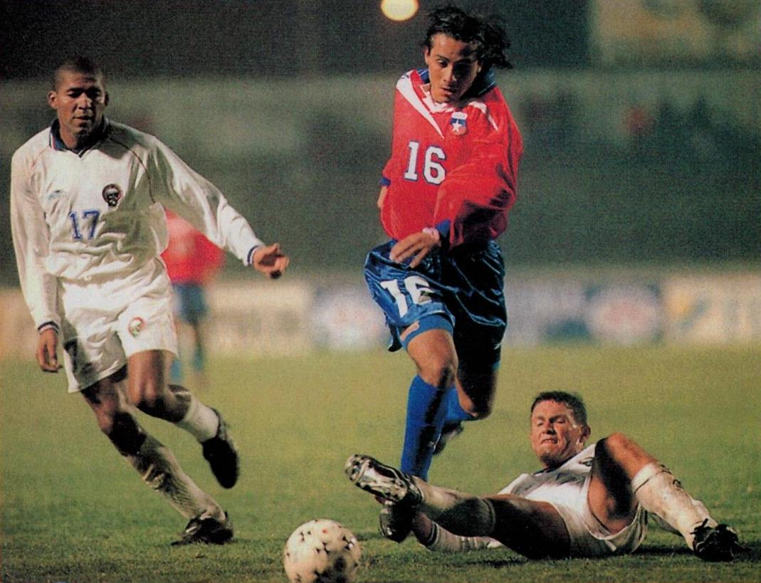 Chile y Costa Rica en partido amistoso, 29 de mayo de 1999