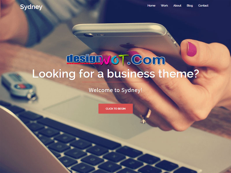 Sydney Powerful WordPress Business Theme