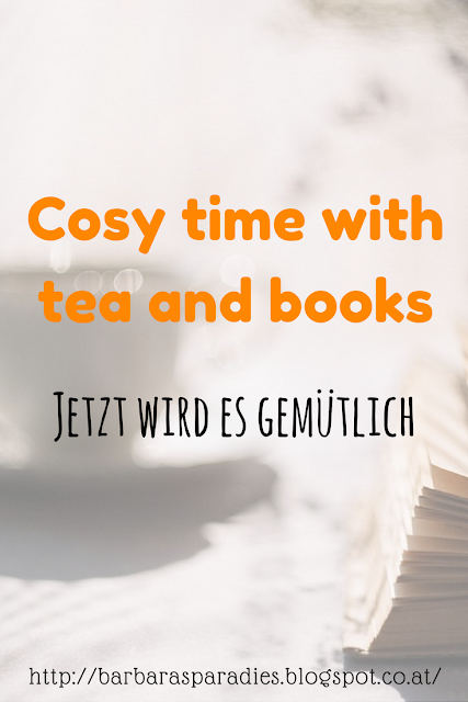 Cosy time with tea and books