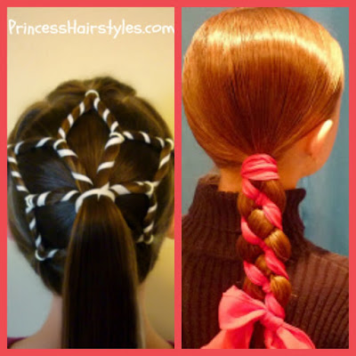 Snowflake Hair and Candy Cane Braid Video Tutorials