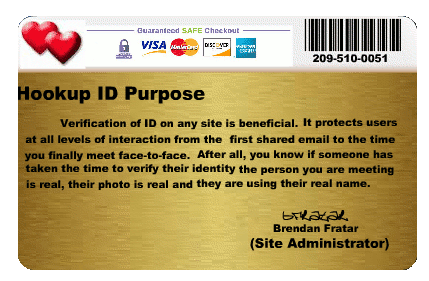 Secured hookup certificate  Real vs  Fake Hookup Safety ID