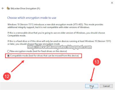 Gambar 7 - Cara Mengaktifkan BitLocker di Windows 10