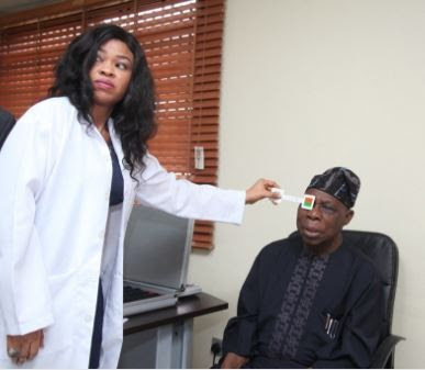 Ben Bruce describes Obasanjo as a leader who believes in Nigeria for having his medical check up done in Bayelsa State