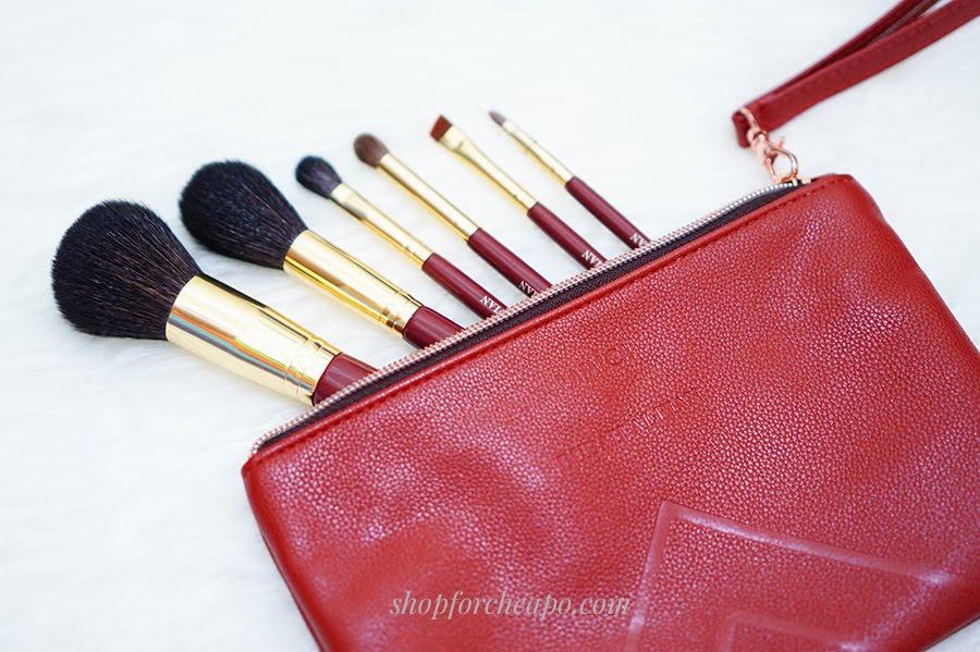 lamica x bubah alfian makeup brush review