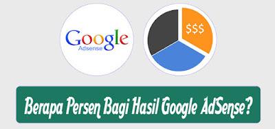 Berapa Persen Bagi Hasil Google AdSense?