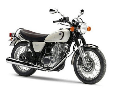 2016 Yamaha SR400 classic motorcycle