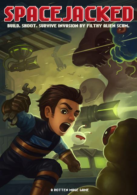 Impresiones con Spacejacked. Acción intensa en un 'tower defense' con alma arcade