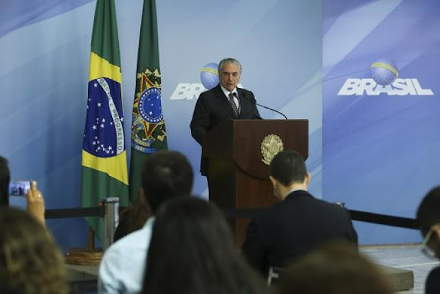 NEWS | Temer: Government to focus on tax reform in 2017