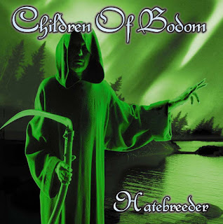 "Pochette de l'album ""Hatebreeder"" de Children of Bodom"