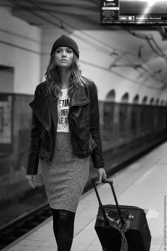 Moda otoño invierno 2016 camperas y faldas. Cenizas ropa de mujer moda otoño invierno 2016.