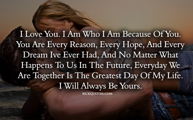 I Love You Quotes I Will Always Yours