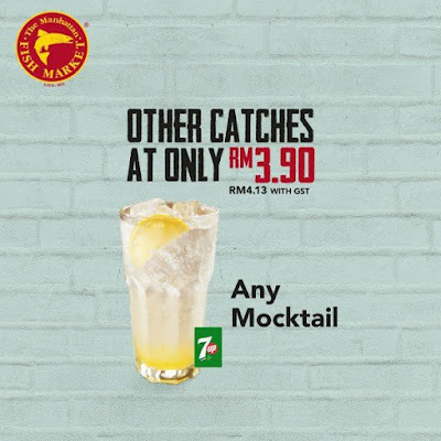 The Manhattan FISH MARKET Any Mocktail