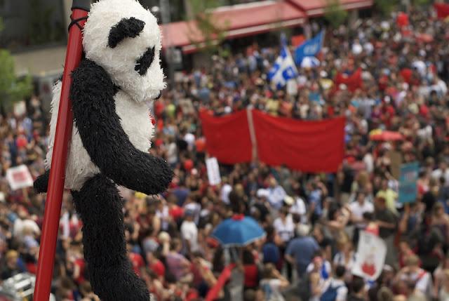 Manifestation du 22 mai 2012, 100 jours de grève, Montréal [photos David Champagne]