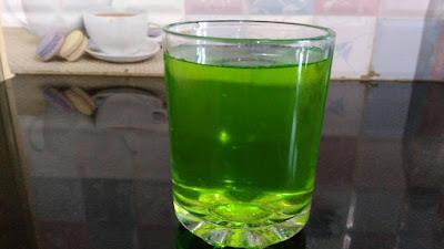 Drinking Khus Khus Juice