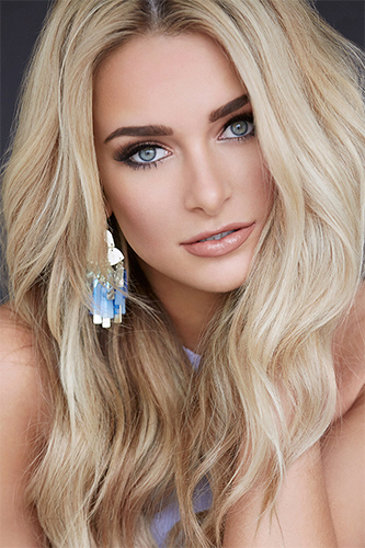 Miss USA 2018 Candidates Contestants Delegates Kansas Melanie Shaner