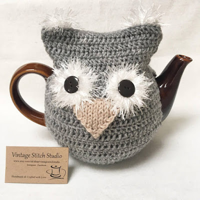 Owl Teapot Cosy