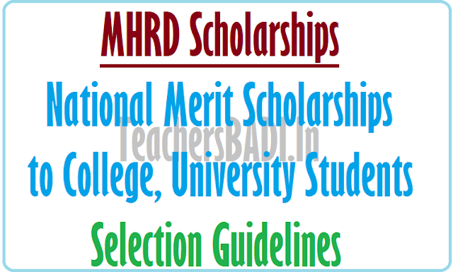 National Merit Scholarships, College, University Students,Guidelines 2016