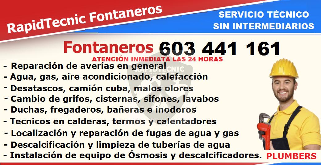 Rapidtecnic madrid fontaneros malasa a madrid 603 441 161 - Fontaneros en madrid ...