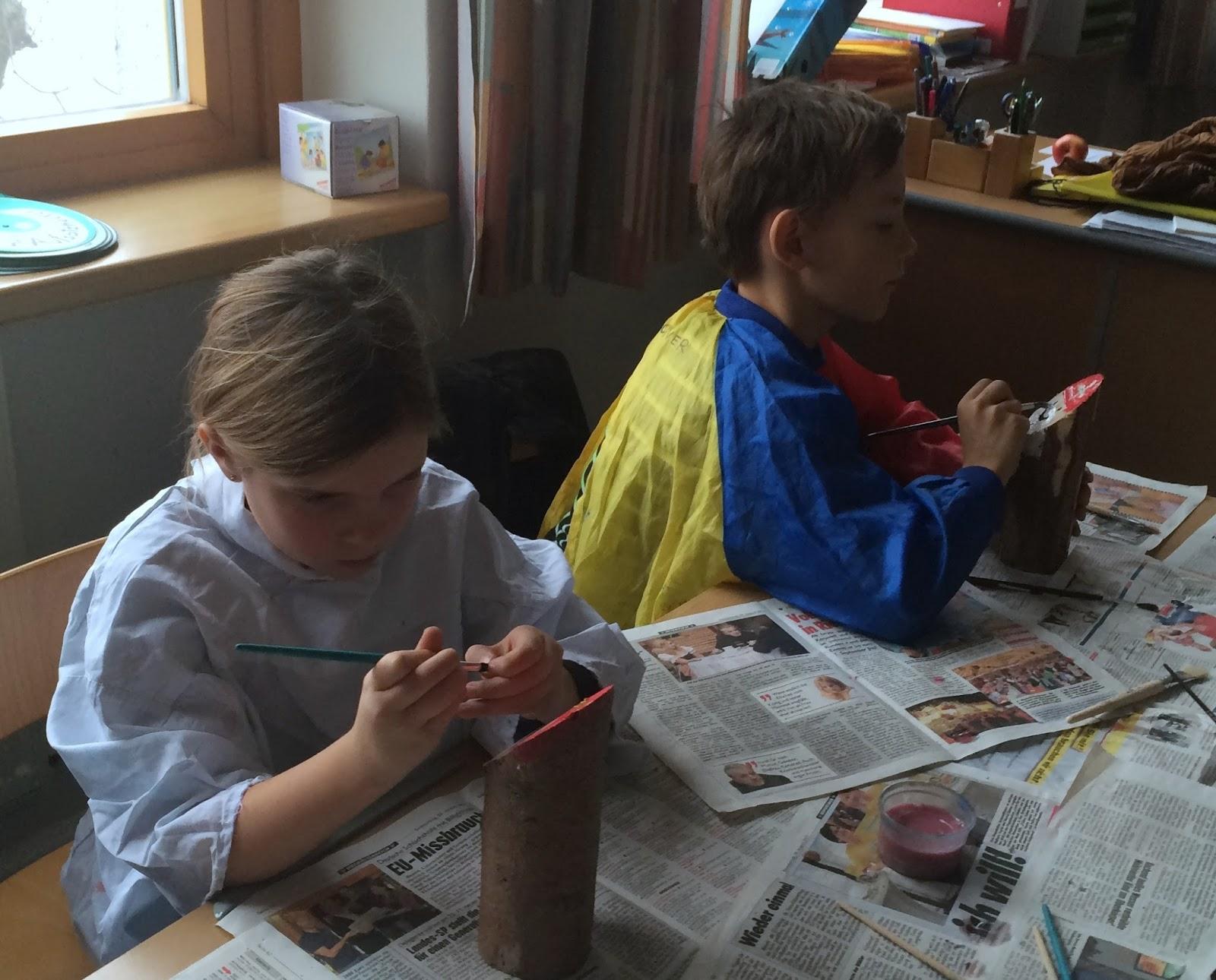 Weihnachtsbasteln 4 Klasse.Vs Steinhaus 4 Klasse 2015 2016 Basteln Im Advent