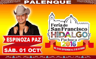 Palenque Feria Pachuca 2016