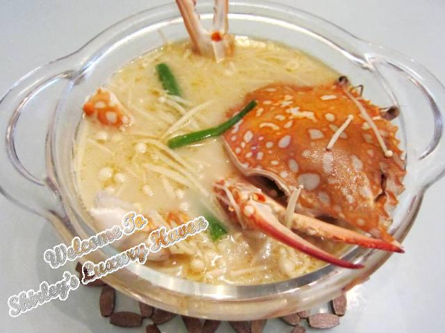 cooking flower crab soup