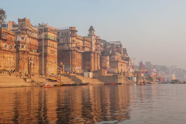 Kutsal Şehir Varanasi Hindistan
