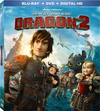 How To Train Your Dragon 2 (2014) BRRip 800Mb Dual Audio 720p